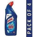 Harpic Power Plus Disinfectant Toilet Cleaner, Original, 1L (Pack of 4)