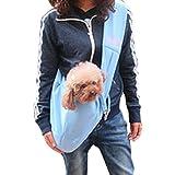 Ubagoo High Quality Pet Dog Cat Puppy Sling Carrier Bag Soft Reversible Small Dog Guinea Pig Messenger Bag Kitty Rabbit Shoulder Carry Bag Pouch