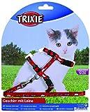 Trixie 4144 Kätzchengeschirr mit Leine, Nylon, 21-33 cm/8 mm, 1,20 m