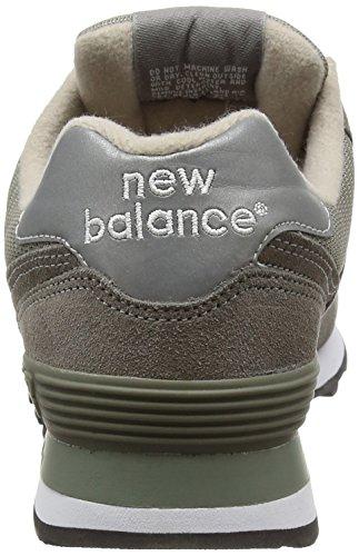 New Balance M574 Unisex-Erwachsene Sneakers Grau (GS GREY 12)