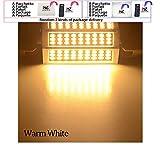 LED-Lampe, 10 W, 20 W, 25 W, 30 W, R7S, 78 mm, 118 mm, 135 mm, 189 mm, 220 V, SMD5730 LED-Leuchtmittel, R7s J118 J78 Röhre, Ersatz für Halogenstrahler, warmweiß, 10W 36led 78mm