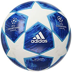 adidas Performance Champions League Finale 18 Top Training Soccer Ball, Multicolor, Size 5