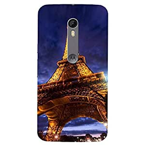 Parris Stachue- Mobile Back Case Cover For Moto X Play