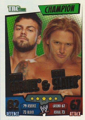justin-gabriel-heath-slater-champion-card-slam-attax-rumble-trading-card
