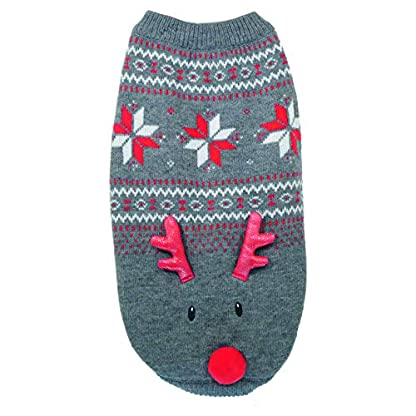 Rosewood Christmas Cupid Light Up Jumper For Dogs, Large 1