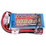 Gens ace Batteria LiPo 1000mAh 11.1V 25C 3S per Elicottero Aereo FPV Quadcopter...