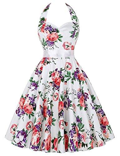 Hepburn-style-vintage-swing-robe-de-soire-annes-60-Taille-L-CL6075-2