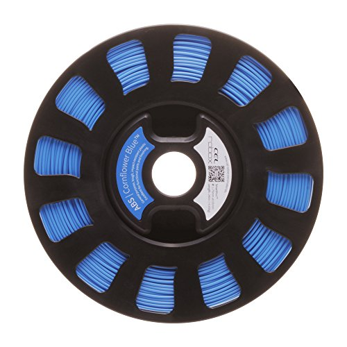 ABS FILAMENT SMARTREEL – CORNFLOWER BLUE RBX-ABS-BL824 By ROBOX