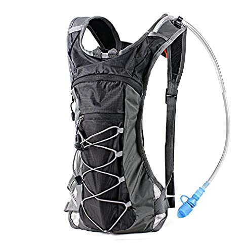 Hydration Pack Backpack with 70 oz 2L Water Bladder for
