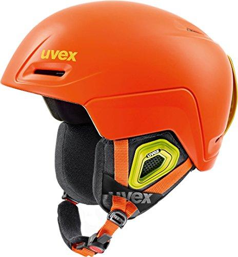 Uvex Jimm Skihelm 59-61 cm Orange Matt