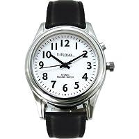 NRS Healthcare M84937 - Reloj de ayuda para mujeres, color negro