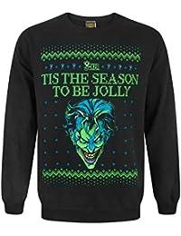 DC Comics Batman Joker Christmas Sweatshirt