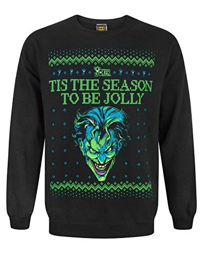 DC Comics Batman Joker Christmas Sweatshirt (M)