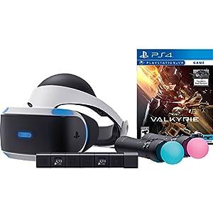Sony PlayStation VR Valkrie Starter Bundle 4 items: VR,motion, camera and vr game disc- PSVR EVE: Valkyrie – PlayStation…