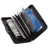 Aluma Wallet Credit Card Holder RFID Blocking - Purple