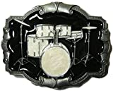 Drums Set Belt Buckle with display stand