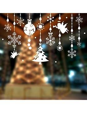Jimmackey Espumosos Copo De Navidad Ornamentos DiseñO Iridiscente Con Brillantina Blanco Sobre Cadena Percha De...