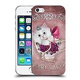 Head Case Designs Offizielle Ash Evans Lady Grey The Katzen Auf Tassen Soft Gel Hülle für iPhone 5 iPhone 5s iPhone SE