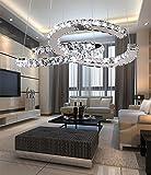 Lh$yu C-Typ Luxus modernen Kristall LED Anhänger, moderne Haus Deckenleuchte