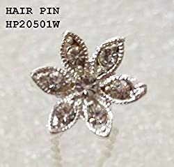 FANCY IMPORTED HAIR PIN (HP20501W)