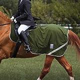 Harrison Howard Acclimate Polaire et Mesh Feuille d'exercice Tapis de compétition Hi-Viz (Cheval (L, 154cm), Olive Verte)