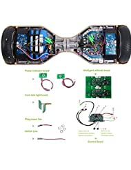 Quanmin Universal Hoverboard Two Wheel Car Self Balancing Controller Board Smart Electric Scooter Accessory Motherboard Balance Car Parts LED Balance Car Control Main Board Module PCBA SKD