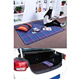 Songmics 195 x 150 cm Picnic Blanket Insulated Waterproof GCM50B