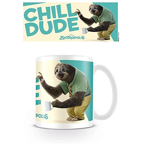 Zootropolis Chill Dude-Tazza in ceramica, multicolore