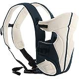 ECOSUSI Porte Bébé Coton Confort 3-14 Mois (3.6-9.1kg) Blanc
