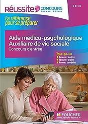 AMP AVS - Aide médico-psychologique et Auxiliaire de vie sociale - Concours d'entrée 2016