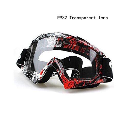Off-Road-Motorrad-Schutzbrillen windundurchlässige ATV Bike Racing Motocross Brillen Anti-UV