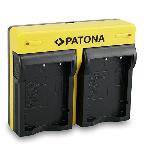 PATONA Dual Lader kompatibel mit Fuji NP-40 / NP-60 / NP-95 / NP-120 - Fuji Np 40