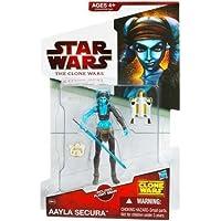 Aayla Secura CW40 Star Wars Clone Wars Acción Figura