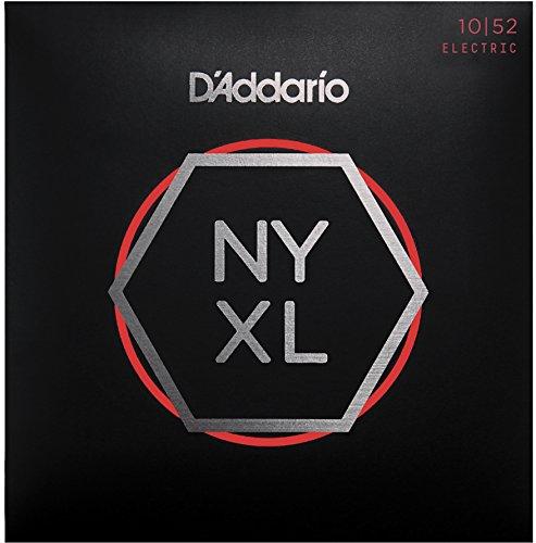 D'Addario NYXL1052 - Juego de cuerdas para guitarra eléctrica, 10-52