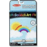 Melissa and Doug On The Go Scratch Art Hidden Picture Pad, Multi Color