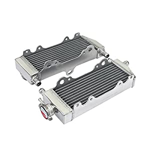 TARAZON MX Radiadores para Yamaha YZ250 WR250 1996 1997 1998 1999 2001 Aluminum Core Motor Water Cooling Off-Road