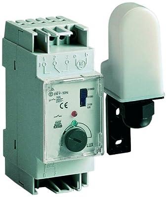 Sesam EDS 35A Dämmerungsschalter mit separatem Lichtfänger, EB - 2-200 LUX, 2 TE von Sesam - Lampenhans.de