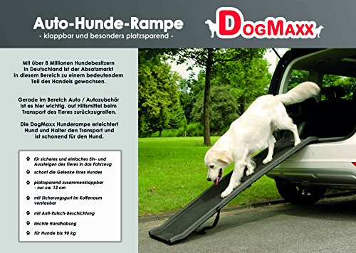 Klapp-Rampe DogMaxx mit Sicherungsgurt - 6