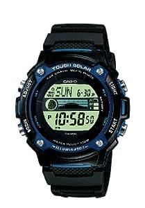 Casio Collection – Herren-Armbanduhr mit Digital-Display und Resin-Armband – W-S210H-1AVEF