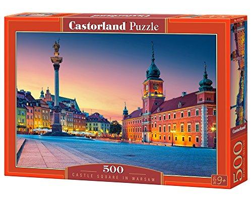 Castorland B-52486 Puzzle Castle Square in Warsaw, 500 Teile