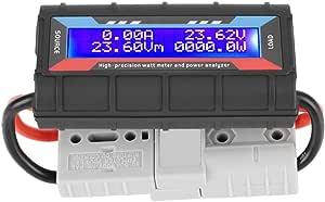 4 8 V 60 V Hohe Präzision Watt Meter Spannung Amp Meter Power Analyzer Checker Analyzer Leistungsüberwachung Mit Lcd Bildschirm Für Rc Batterie Solar Wind Power 150a Baumarkt