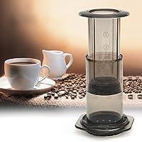 Tradico® Portable Filter Press Coffee Maker Pot Hand Pressure Machine Free Filter Paper