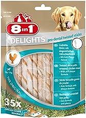 8in1 Dental Delights Kauknochen (funktionaler Kausnack zur effektiven Plaqueentfernung bei Hunden)