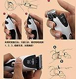 Wawoo® Tierhaarschneider Harrschneidermaschine Profi Rasierer für Tiere Hunde Katze Trimmer Wiederaufladbar Elektrischer Tierhaarschneidemaschine Set mit 2 Kammaufsätzen 3-9、6-12mm - 6