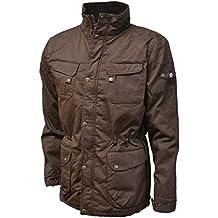 De hombre para senderismo VEDONEIRE acolchado chaqueta de hípica para niños cera de regalo de invierno (3051 de color marrón) caliente y abrigo de
