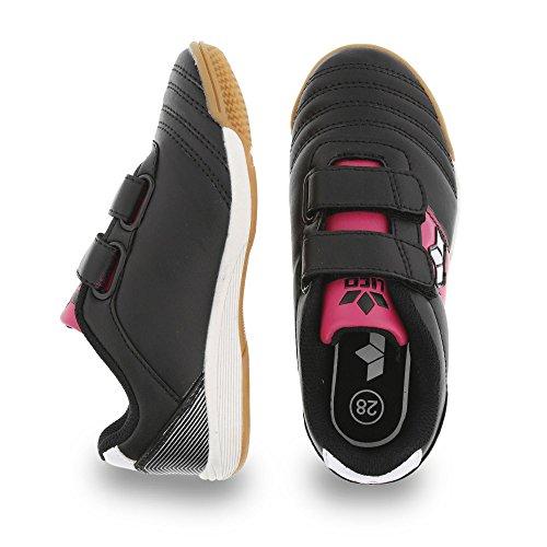 Lico hallensportschuh Noir - Schwarz/Pink