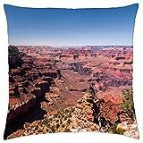 Río Colorado en el mighty Grand Canyon–Funda de almohada manta (16