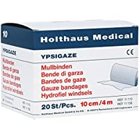 Ypsigaze Mullbinde 10 cmx4 m, 20 St preisvergleich bei billige-tabletten.eu
