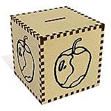 Groß 'Angebissenen Apfel' Sparbüchse / Spardose (MB00063134)