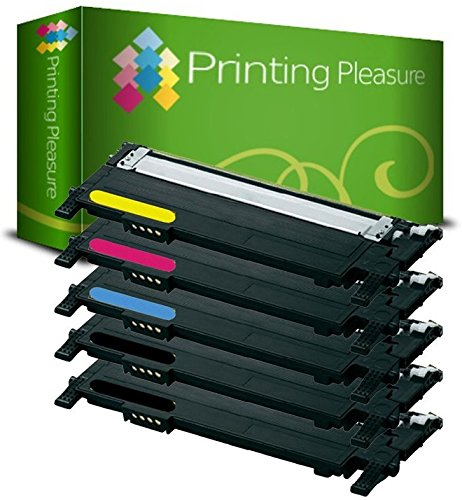 Cheapest Price for Set of 5 Compatible Laser Toner Cartridges for Samsung Xpress SL-C430, SL-C430W / SL-C480, SL-C480W, SL-C480FW, SL-C480FN / CLT-K404S / CLT-C404S / CLT-M404S / CLT-Y404S on Amazon